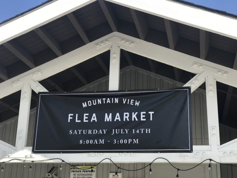 flea market saturday at MVC