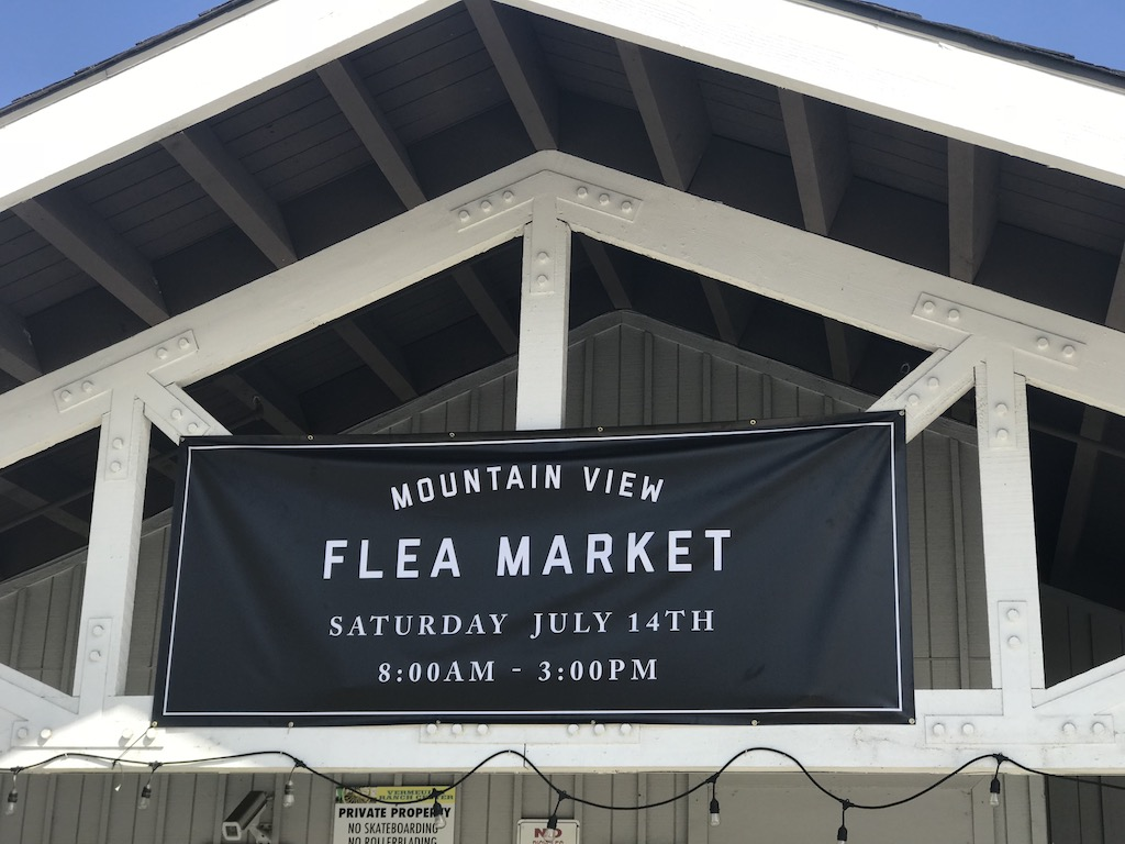 flea market saturday at MVC